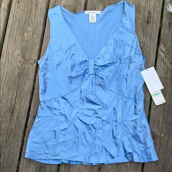 Nine West Tops - NWT Nine West size 8 100% silk top